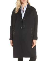 MICHAEL Michael Kors Michl Michl Kors Drop Shoulder Double Face Wool Blend Coat