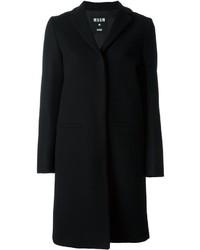 MSGM Welt Pockets Mid Length Coat