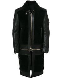Balmain Multipurpose Panelled Coat