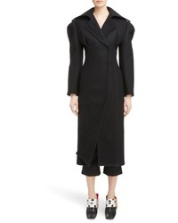 Oversize lapel wool coat medium 5209098