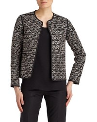 Lafayette 148 New York Pascale Tweed Topper