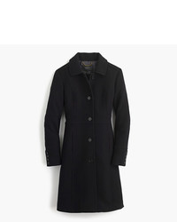 J.Crew Petite Italian Double Cloth Wool Lady Day Coat With Thinsulate
