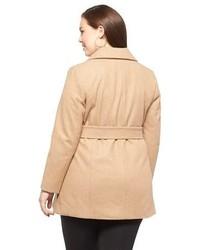 b0d54a18d3519 ... Household Essentials Pure Energy Plus Size Wrap Coat ...
