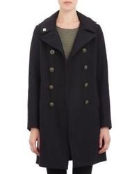Fidelity Reefer Coat Black Size S