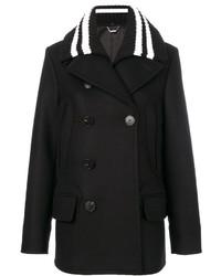 Givenchy Ribbed Collar Coat