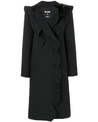 MSGM Ruffle Trim Coat
