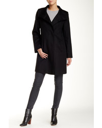 Fleurette Short Wool Blend Coat