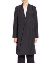 Eileen Fisher Solid Long Sleeve Coat