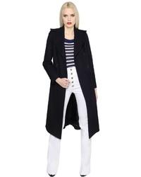 Sonia Rykiel Double Breasted Wool Coat