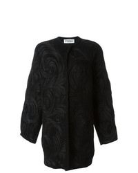 Gianfranco Ferre Vintage Swirl Appliqu Coat