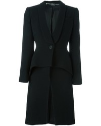Alexander McQueen Tailored Peplum Coat