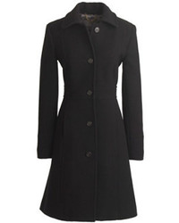J.Crew Tall Italian Double Cloth Wool Lady Day Coat With Thinsulate