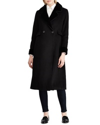 Lauren Ralph Lauren Wool Blend Faux Coat