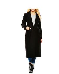 Liz Claiborne Wool Blend Walking Coat