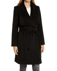 Cole Haan Wool Blend Wrap Coat