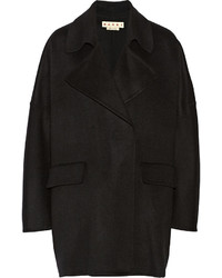 Marni Wool Cashmere And Angora Blend Coat