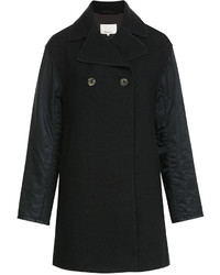 3.1 Phillip Lim Wool Coat With Contrast Sleeves