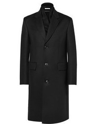 Paul Smith Wool Overcoat With Cashmere Scarf