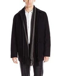 Calvin Klein Wool Scarf Coat