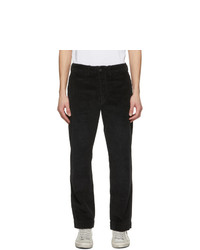 RRL Black Corduroy Field Trousers