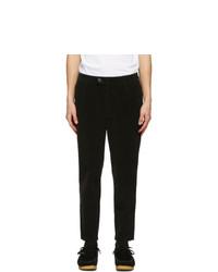 Barbour Black Corduroy Jumbo Cord Trousers