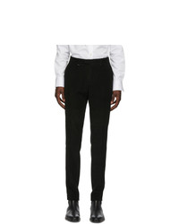 Z Zegna Black Corduroy Trousers