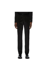Z Zegna Black Corduroy Trousers