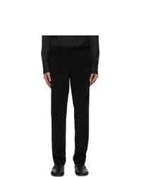 Brioni Black Corduroy Vail Trousers