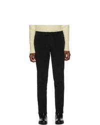Barena Black Lio Sarza Trousers