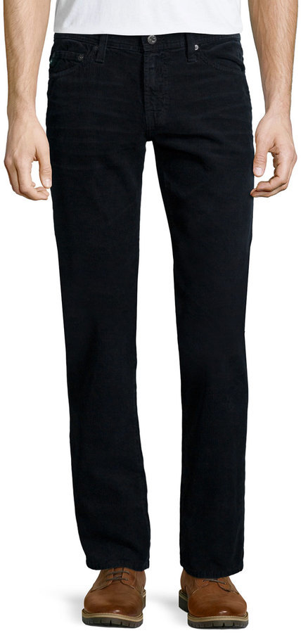 AG Jeans Ag Graduate Sulfur Corduroy Pants Black | Where to buy
