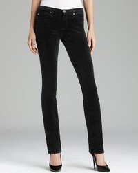 AG Adriano Goldschmied Jeans The Ballad Cord In Super Black