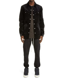 Rick Owens Four Pocket Corduroy Shirt