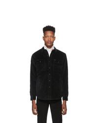 Polo Ralph Lauren Black Corduroy Overshirt