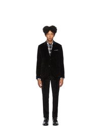 Neil Barrett Black Corduroy Suit