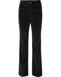Prada Cotton Corduroy Wide Leg Pants