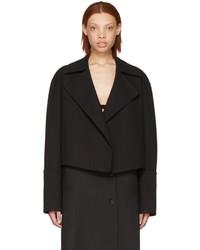 Yang Li Black Cropped Blazer