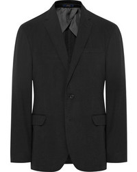 Polo Ralph Lauren Black Morgan Slim Fit Gart Dyed Cotton Ripstop Blazer