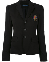 Ralph Lauren Embroidered Emblem Blazer