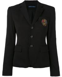 Ralph Lauren Embroidered Emblem Blazer