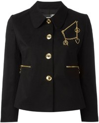 Love Moschino Chain Detail Blazer