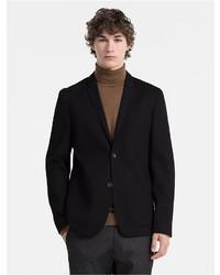 Calvin Klein Slim Fit Waffle Cotton Blazer