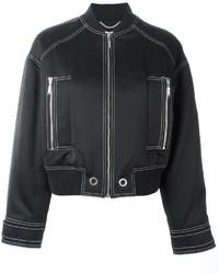 Kenzo Stitch Detailed Bomber Jacket