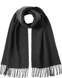 Scarf with virgin wool and cotton medium 721570
