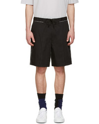 Lanvin Black Tie Up Shorts