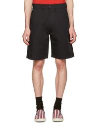 Stella McCartney Black Twill Shorts