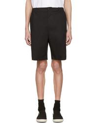 Stella McCartney Black Wide Shorts
