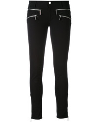 MICHAEL Michael Kors Michl Michl Kors Multi Zips Cropped Skinny Jeans