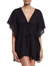 Seafolly Crochet Trim Caftan Coverup