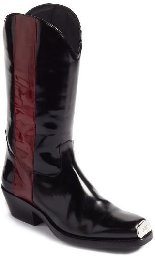 ... Calvin Klein 205w39nyc Ellie Western Boot ...