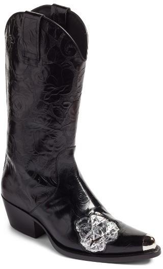 45f5400a90c $1,595, Calvin Klein 205w39nyc Tex Tubo Western Boot